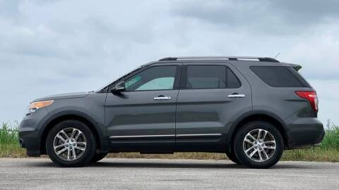 2015 Ford Explorer for sale at Palmer Auto Sales in Rosenberg TX