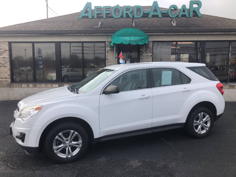 2014 Chevrolet Equinox for sale at Afford-A-Car in Moraine OH