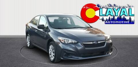 2017 Subaru Impreza for sale at Layal Automotive in Englewood CO
