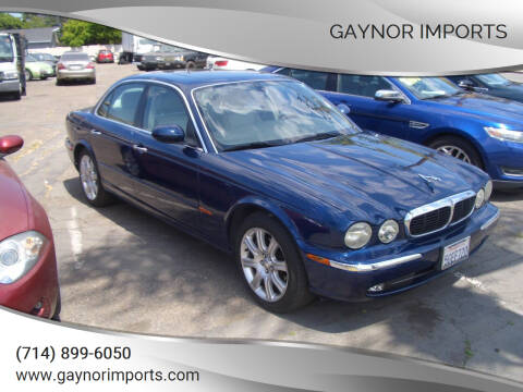 2004 Jaguar XJ-Series for sale at Gaynor Imports in Stanton CA