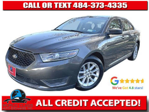 2015 Ford Taurus for sale at World Class Auto Exchange in Lansdowne PA