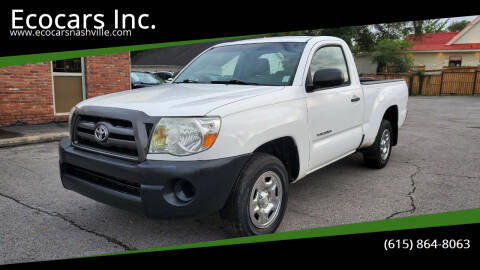 2009 Toyota Tacoma for sale at Ecocars Inc. in Nashville TN