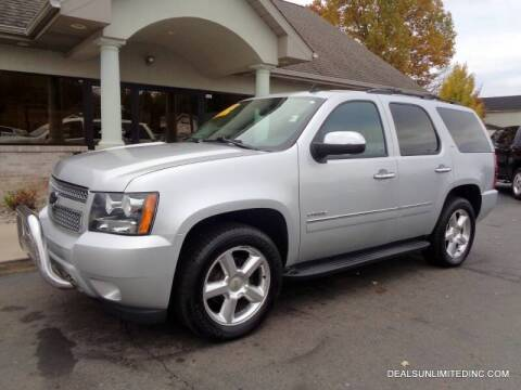 2013 Chevrolet Tahoe for sale at DEALS UNLIMITED INC in Portage MI