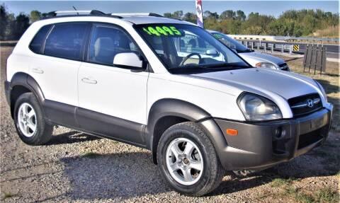 2006 Hyundai Tucson for sale at Advantage Auto Sales in Wichita Falls TX