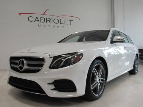 2017 Mercedes-Benz E-Class for sale at Cabriolet Motors in Morrisville NC