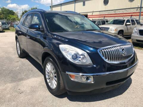 2009 Buick Enclave for sale at Marvin Motors in Kissimmee FL