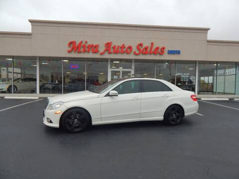 2010 Mercedes-Benz E-Class for sale at Mira Auto Sales in Dayton OH