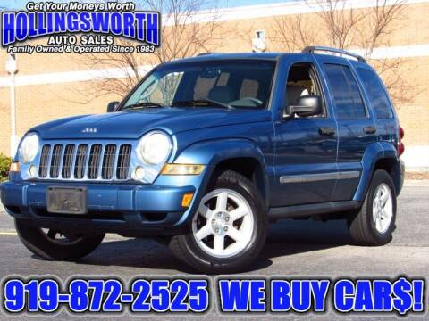 2005 Jeep Liberty for sale at Hollingsworth Auto Sales in Raleigh NC