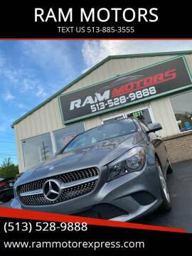2015 Mercedes-Benz CLA for sale at RAM MOTORS in Cincinnati OH