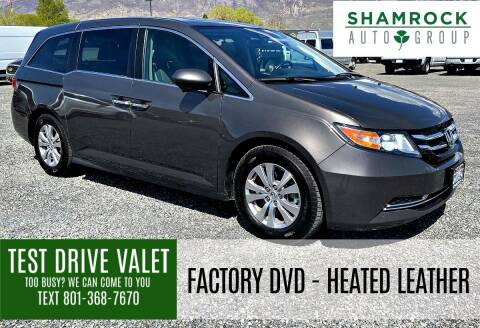 2017 Honda Odyssey for sale at Shamrock Group LLC #1 in Pleasant Grove UT