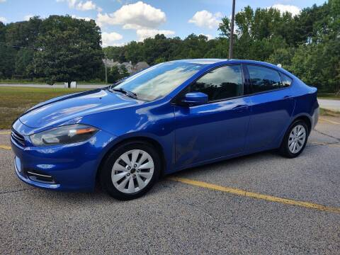 2014 Dodge Dart for sale at WIGGLES AUTO SALES INC in Mableton GA