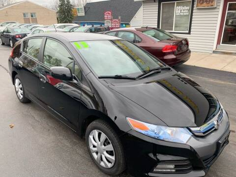 2013 Honda Insight for sale at OZ BROTHERS AUTO in Webster NY