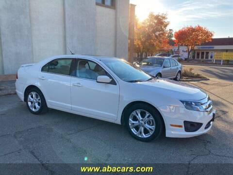 2012 Ford Fusion for sale at About New Auto Sales in Lincoln CA