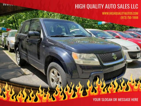 2007 Suzuki Grand Vitara for sale at High Quality Auto Sales LLC in Bloomingdale NJ