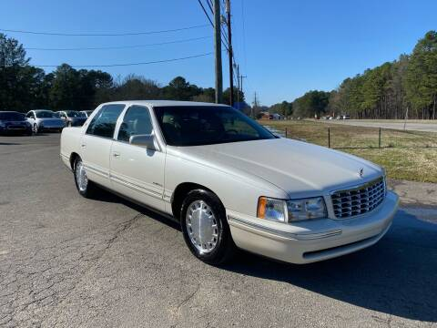 1999 Cadillac DeVille for sale at CVC AUTO SALES in Durham NC