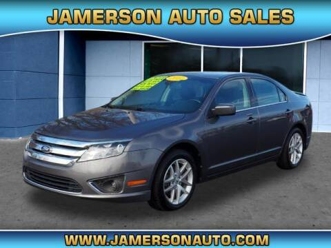 2012 Ford Fusion for sale at Jamerson Auto Sales in Anderson IN