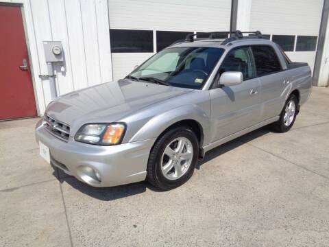 2003 Subaru Baja for sale at Lewin Yount Auto Sales in Winchester VA