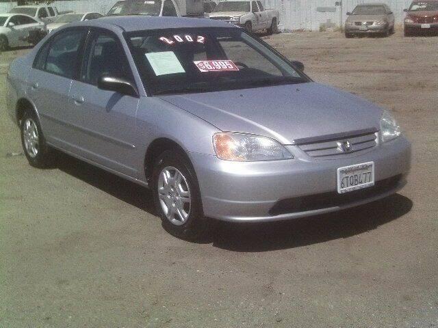 2002 Honda Civic for sale at Valley Auto Sales & Advanced Equipment in Stockton CA