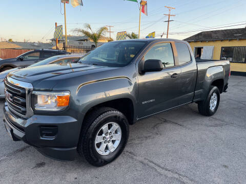 2015 GMC Canyon for sale at JR'S AUTO SALES in Pacoima CA