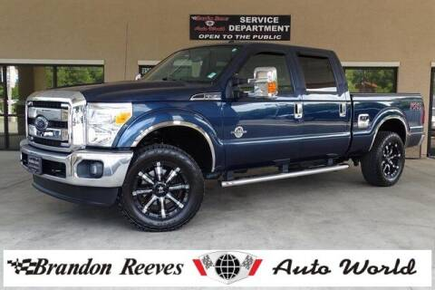 2016 Ford F-250 Super Duty for sale at Brandon Reeves Auto World in Monroe NC