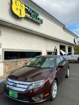 2012 Ford Fusion for sale at US1 Auto Sales & Service in Penndel PA