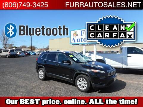 2014 Jeep Cherokee for sale at FURR AUTO SALES in Lubbock TX