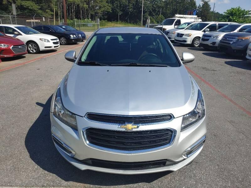 2015 Chevrolet Cruze for sale at Adonai Auto Broker in Marietta GA