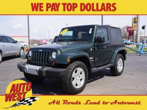 2010 Jeep Wrangler for sale at Autowest Allegan in Allegan MI