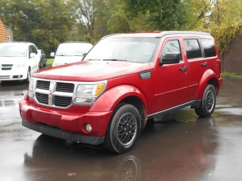 2009 Dodge Nitro for sale at MT MORRIS AUTO SALES INC in Mount Morris MI