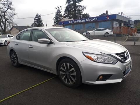 2018 Nissan Altima for sale at All American Motors in Tacoma WA