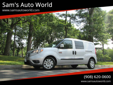 2016 RAM ProMaster City Cargo for sale at Sam's Auto World in Roselle NJ
