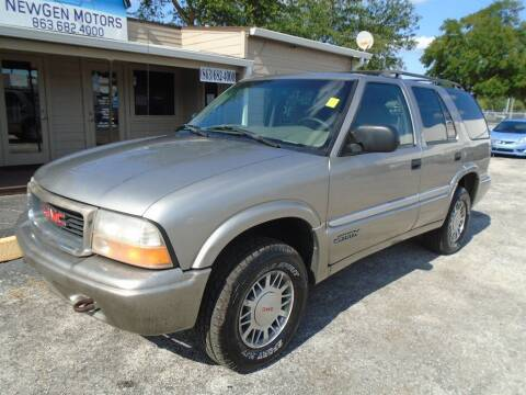 2001 GMC Jimmy for sale at New Gen Motors in Lakeland FL
