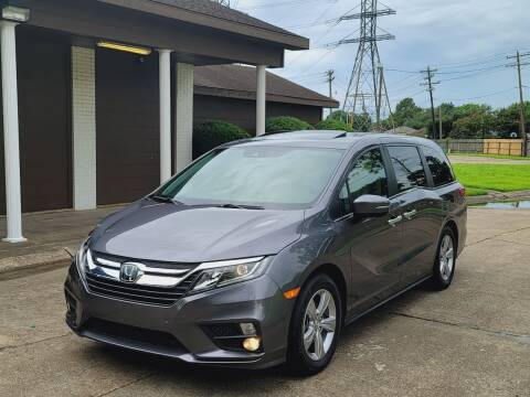 2019 Honda Odyssey for sale at MOTORSPORTS IMPORTS in Houston TX