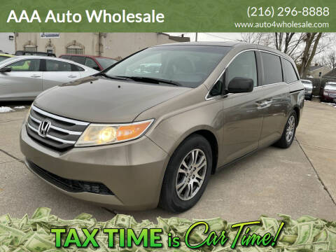 2012 Honda Odyssey for sale at AAA Auto Wholesale in Parma OH