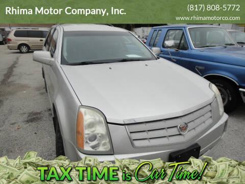 2006 Cadillac SRX for sale at Rhima Motor Company, Inc. in Haltom City TX