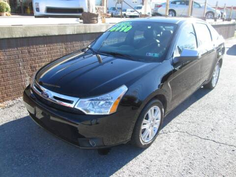 2010 Ford Focus for sale at WORKMAN AUTO INC in Pleasant Gap PA