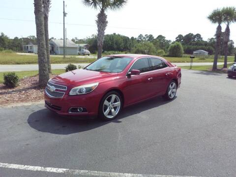 2013 Chevrolet Malibu for sale at First Choice Auto Inc in Little River SC