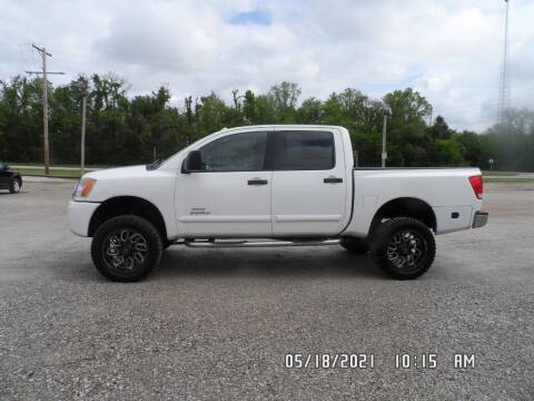 2011 Nissan Titan for sale at Town and Country Motors in Warsaw MO