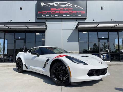 2017 Chevrolet Corvette for sale at Exotic Motorsports of Oklahoma in Edmond OK