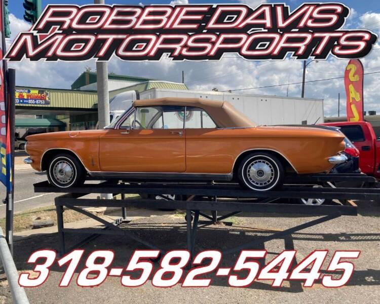 1964 Chevrolet Corvair for sale at Robbie Davis Motorsports in Monroe LA