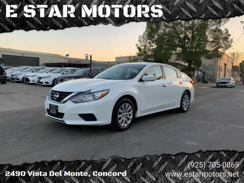 2017 Nissan Altima for sale at E STAR MOTORS in Concord CA