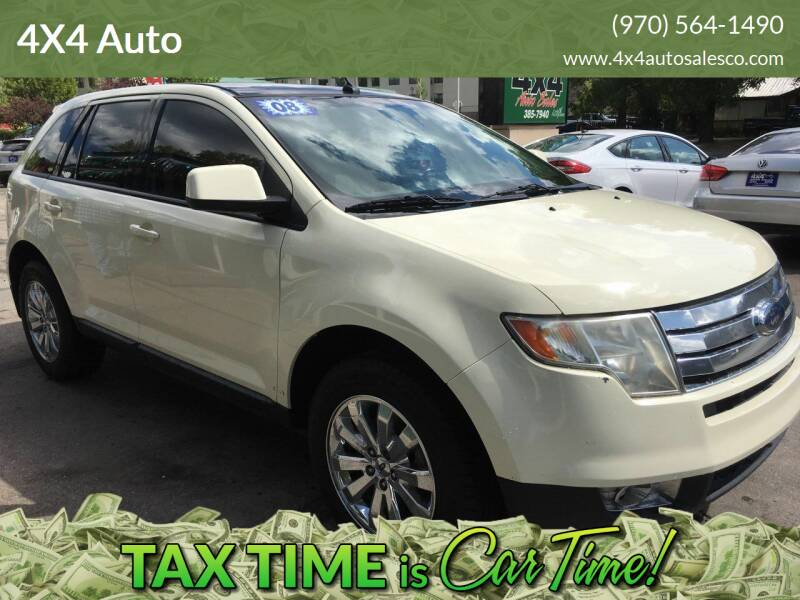 2008 Ford Edge for sale at 4X4 Auto in Cortez CO