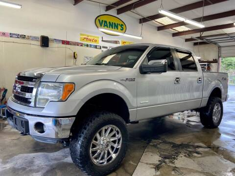 2013 Ford F-150 for sale at Vanns Auto Sales in Goldsboro NC