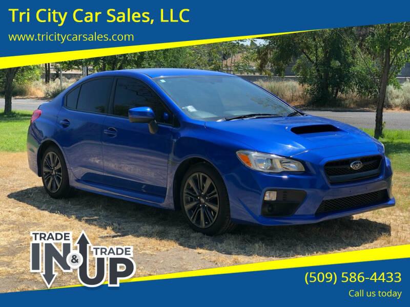 2017 Subaru WRX for sale at Tri City Car Sales, LLC in Kennewick WA