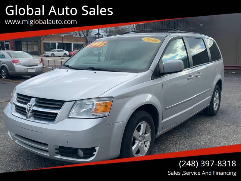 2010 Dodge Grand Caravan for sale at Global Auto Sales in Hazel Park MI