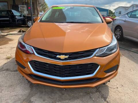 2017 Chevrolet Cruze for sale at BEST AUTO SALES in Russellville AR