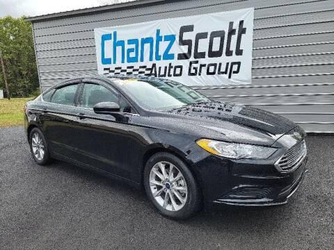 2017 Ford Fusion for sale at Chantz Scott Kia in Kingsport TN