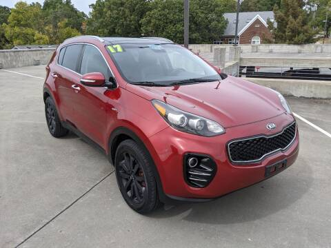 2017 Kia Sportage for sale at QC Motors in Fayetteville AR