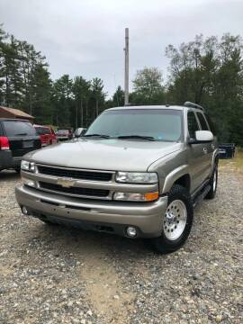 2003 Chevrolet Tahoe for sale at Hornes Auto Sales LLC in Epping NH