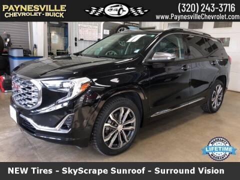 2018 GMC Terrain for sale at Paynesville Chevrolet Buick in Paynesville MN